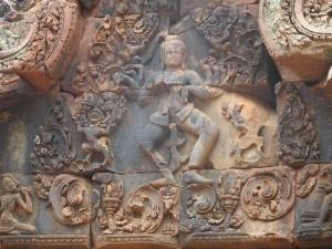 Banteay Srei-Ramayani scenes