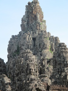 Bayon Temple Tower of Ascending Faces