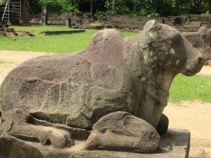 Nandini the bull, messenger for god Shiva