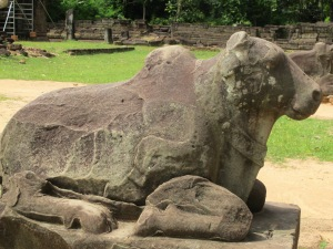 Nandini the bull, messenger for god Shiva