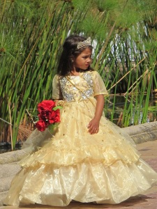Cape Malay wedding- flower girl