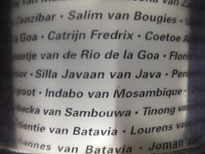 Slave Names, Slave Tree