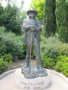 Cezanne statue