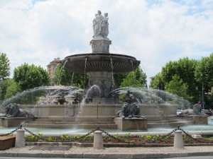 Fountain at Cours Mirabeau