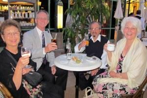 Café de Paris with fellow 'mates'