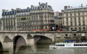 The River Seine, Paris