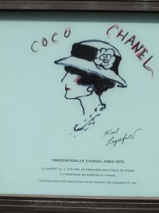 Coco Chanel's boutique, Deauville