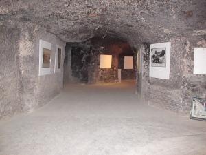 Troglodyte wine cellar,