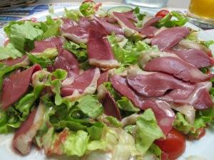 Salad de canard, Amboise