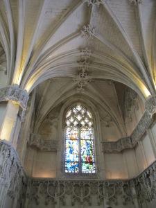 Inside Chateau de Chambord