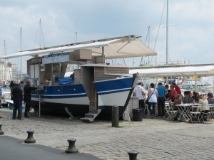 Lunch, La Rochelle