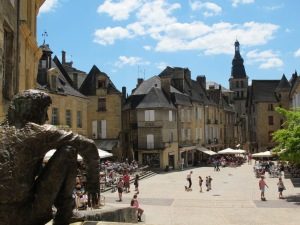 Sarlat town center