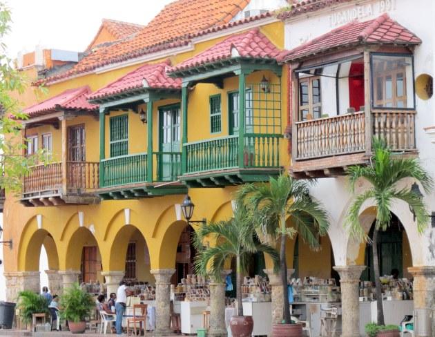 Beautiful Balconies, Plaza del Coches
