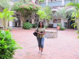 Courtyard, Convent De La Popa