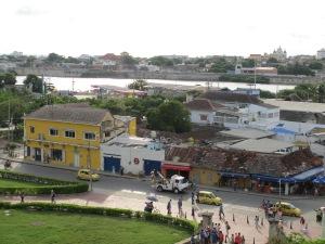 View from Castille de Felipe