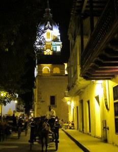 La Cathedral at night